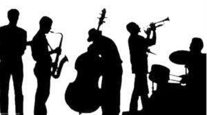 dessin noir et blanc atelier jazz