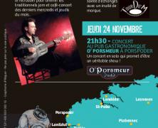 Marc Lelangue, Porspoder le 24 novembre