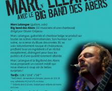 Marc Lelangue et le Big Band des Abers, Brélès le 27 novembre