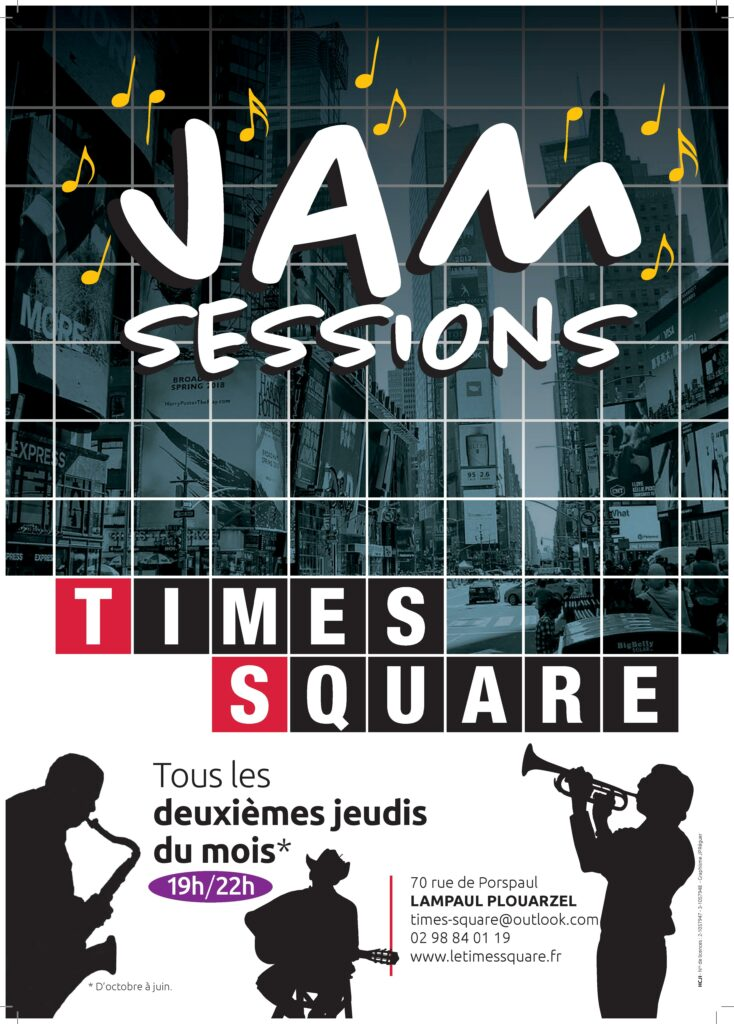 Jam session – Times Square